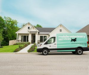A top-rated veterinarian in Houston Texas drives to a home in South Texas.